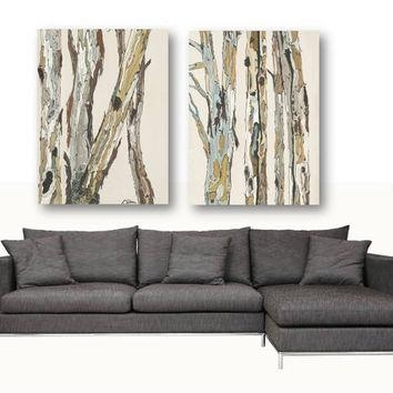 Shop Large Canvas Art Trees On Wanelo In Large Canvas Wall Art Sets (Image 8 of 20)