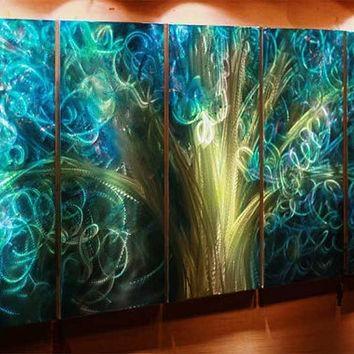 Shop Outdoor Metal Wall Art On Wanelo Regarding Lime Green Metal Wall Art (Image 8 of 20)