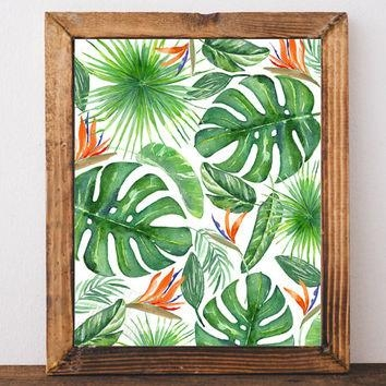 Shop Palm Leaf Decorations On Wanelo Pertaining To Palm Leaf Wall Decor (Image 16 of 20)