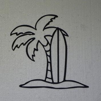 Shop Palm Tree Wall Decorations On Wanelo Regarding Palm Tree Metal Art (View 7 of 20)