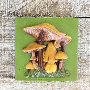 Shop Retro Kitchen Wall Art On Wanelo Inside Mushroom Wall Art (Image 17 of 20)