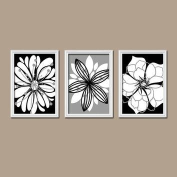 Shop Set Of Three Wall Art On Wanelo In Black And White Wall Art Sets (Image 14 of 20)