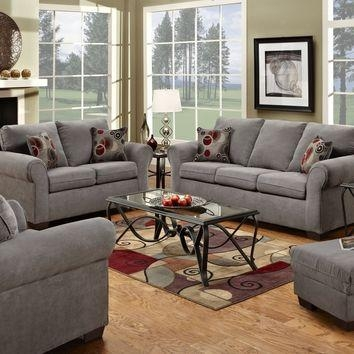 Shop Sofa And Loveseat Gray On Wanelo Intended For Simmons Sofas And Loveseats (Photo 16 of 20)