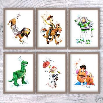 Shop Toy Story Art On Wanelo Within Toy Story Wall Art (View 9 of 20)