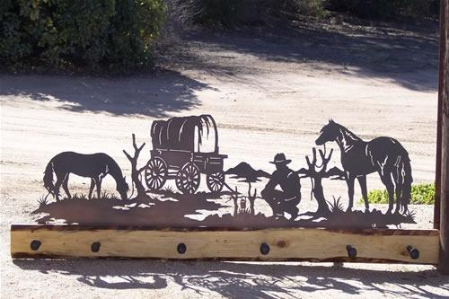 Silhouwest Originals – Metal Artleslie Souza/ Western Art With Regard To Western Metal Art Silhouettes (Image 14 of 20)