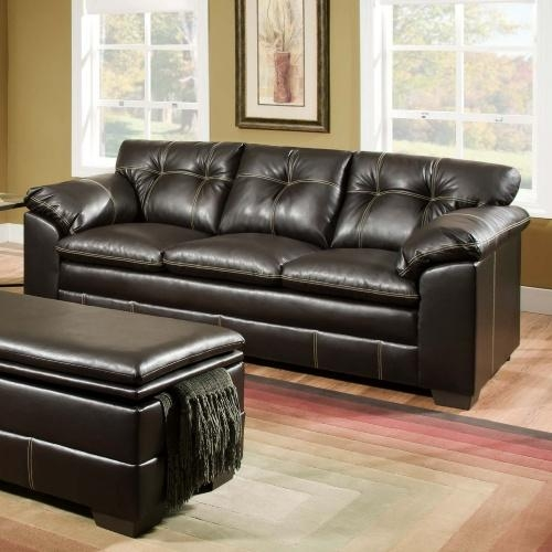 Simmons Bonded Leather Sofa | Sanblasferry Inside Simmons Leather Sofas (Image 11 of 20)