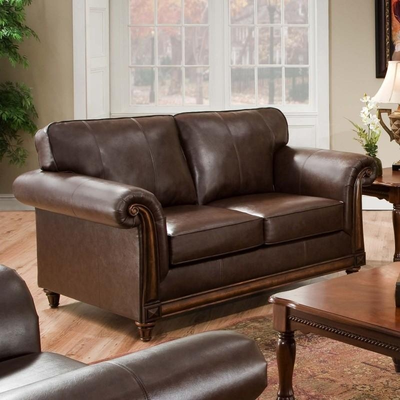 Simmons Leather Sofa And Loveseat – Foter Pertaining To Simmons Leather Sofas (Image 14 of 20)