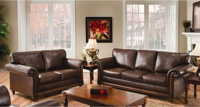 Simmons Leather Sofa | Sanblasferry For Simmons Leather Sofas And Loveseats (Image 16 of 20)