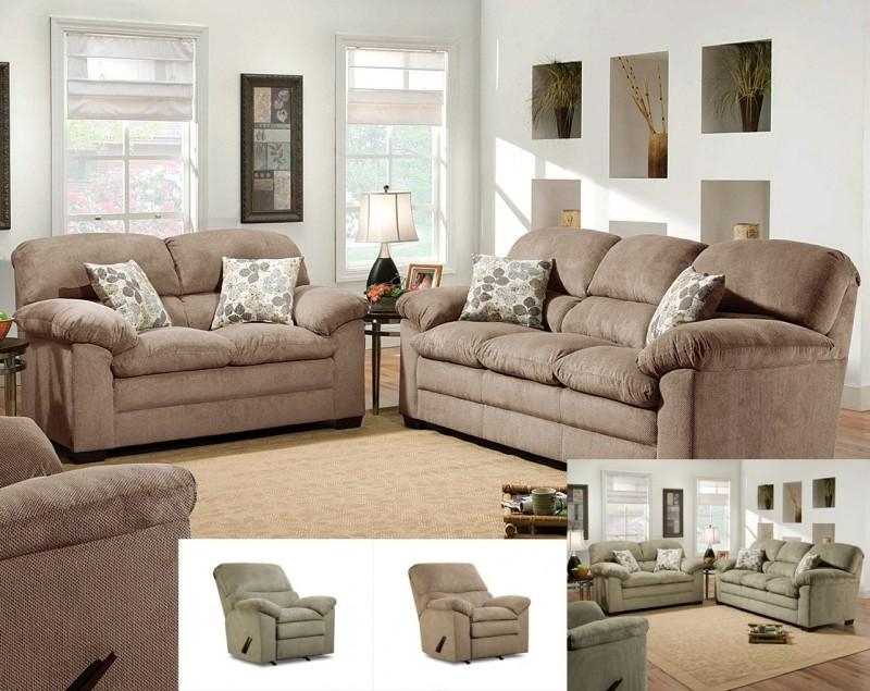 Simmons Microfiber Sofa – Foter Within Simmons Microfiber Sofas (View 11 of 20)