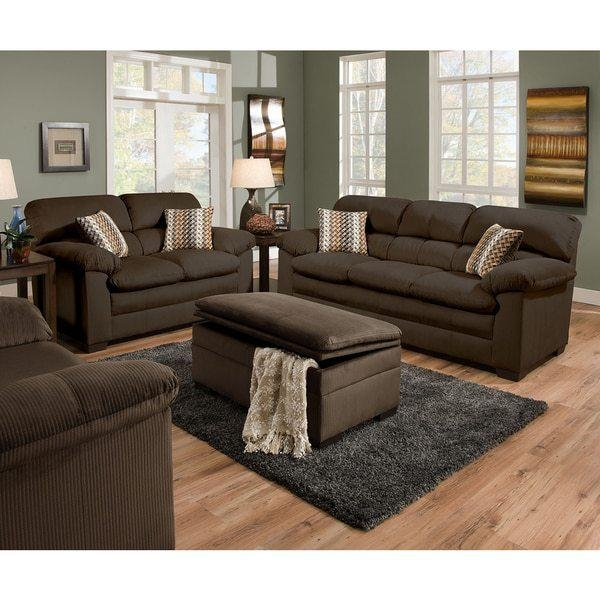 Simmons Upholstery Microfiber Sofa Reviews | Bedroom Furniture With Simmons Microfiber Sofas (Image 19 of 20)