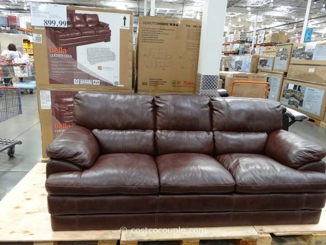 Simon Li Bella Leather Sofa Intended For Simon Li Loveseats (Image 9 of 20)