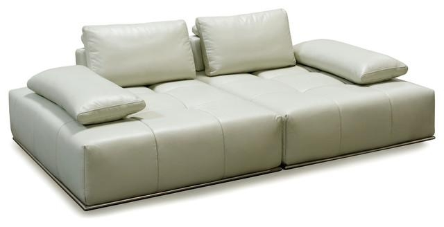 Skyline 2Pc Lounger With Adjustable Backrestsdiamond Sofa Throughout Skyline Sofas (View 4 of 20)