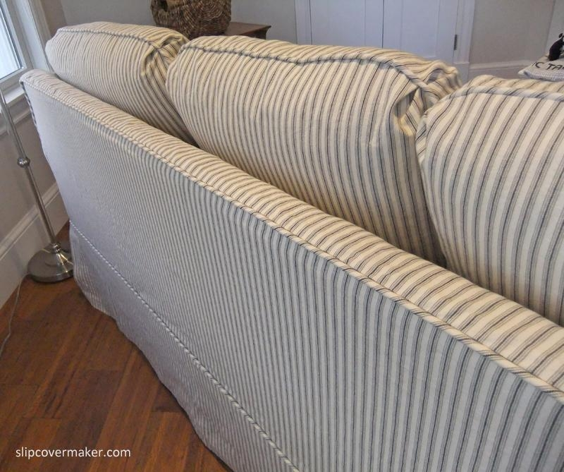 20 Photos Striped Sofa Slipcovers Sofa Ideas