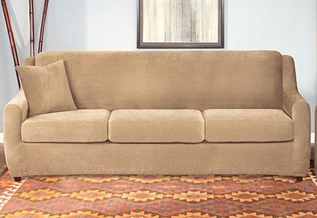 Sleeper Sofa Slipcovers | Sanblasferry Throughout Sleeper Sofa Slipcovers (Image 7 of 20)