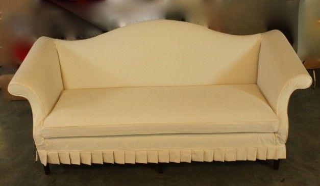 Slipcovers For Camelback Sofa | Camelback Sofa Re Do | Pinterest Within Camelback Slipcovers (View 4 of 20)