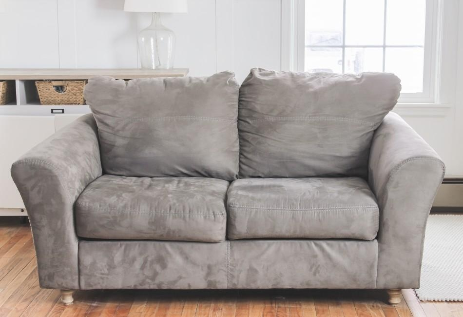 Slipcovers For Sofas With Attached Cushions – Can It Be Done? In Slip Covers For Love Seats (Image 10 of 20)