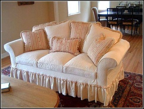 Slipcovers For Sofas With Loose Cushions – Sofa : Home Design For Slipcovers For 3 Cushion Sofas (View 13 of 20)