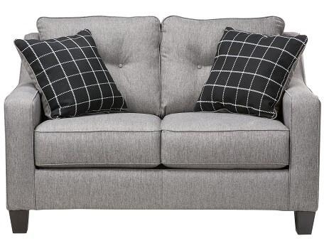 Slumberland | Aero Collection – Charcoal Sofa Regarding Slumberland Sofas (Image 8 of 20)