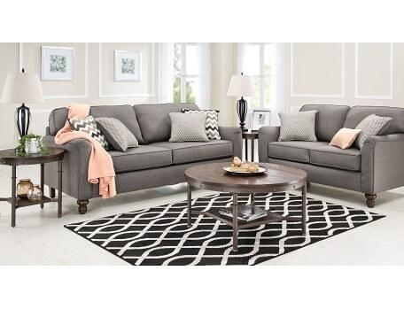 Slumberland | Coleton Collection – Ash Sofa With Slumberland Couches (Image 6 of 20)