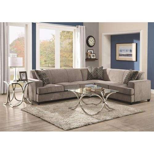 Small Coaster Sectional Sofas: 14 Terrific Coaster Sectional Sofa With Coaster Sectional Sofas (View 3 of 20)