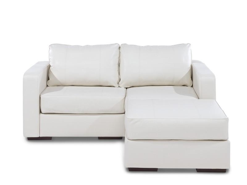 Small Leather Sofa With Chaise And Sectional Sofas 0 Image 1 Of 26 Regarding Small Sofas With Chaise Lounge (View 7 of 20)