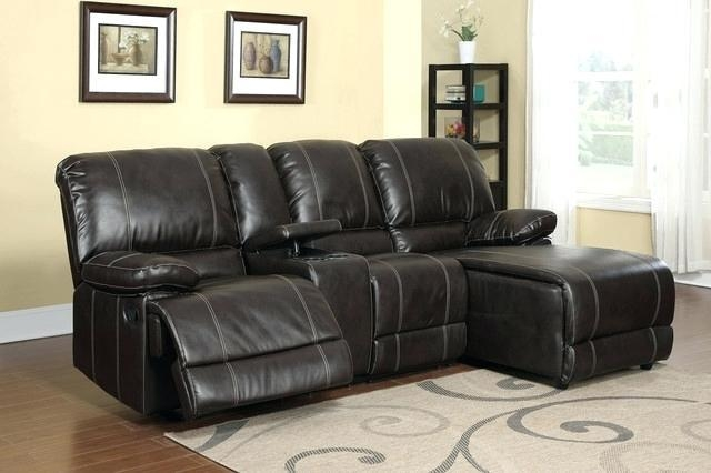 Small Sectional With Recliner – Mthandbags Inside Small Scale Leather Sectional Sofas (Image 16 of 20)