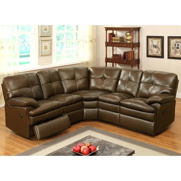 Small Sectional With Recliner – Mthandbags Within Small Scale Leather Sectional Sofas (Image 17 of 20)