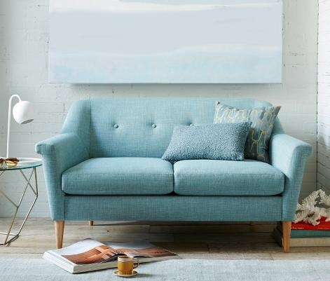 Small Sofas & Sectionals | West Elm Regarding Small Scale Sofas (Image 15 of 20)