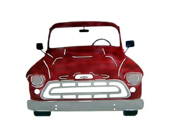 Smw227 Custom Metal Classic Car Wall Art Chevy Coupe – Sunriver Pertaining To Classic Car Wall Art (Image 17 of 20)