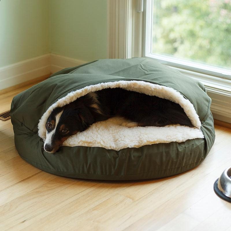 Snoozer Luxury Cozy Cave Dog Bed | 28 Colors/fabrics | 3 Sizes Within Snoozer Luxury Dog Sofas (Image 7 of 20)