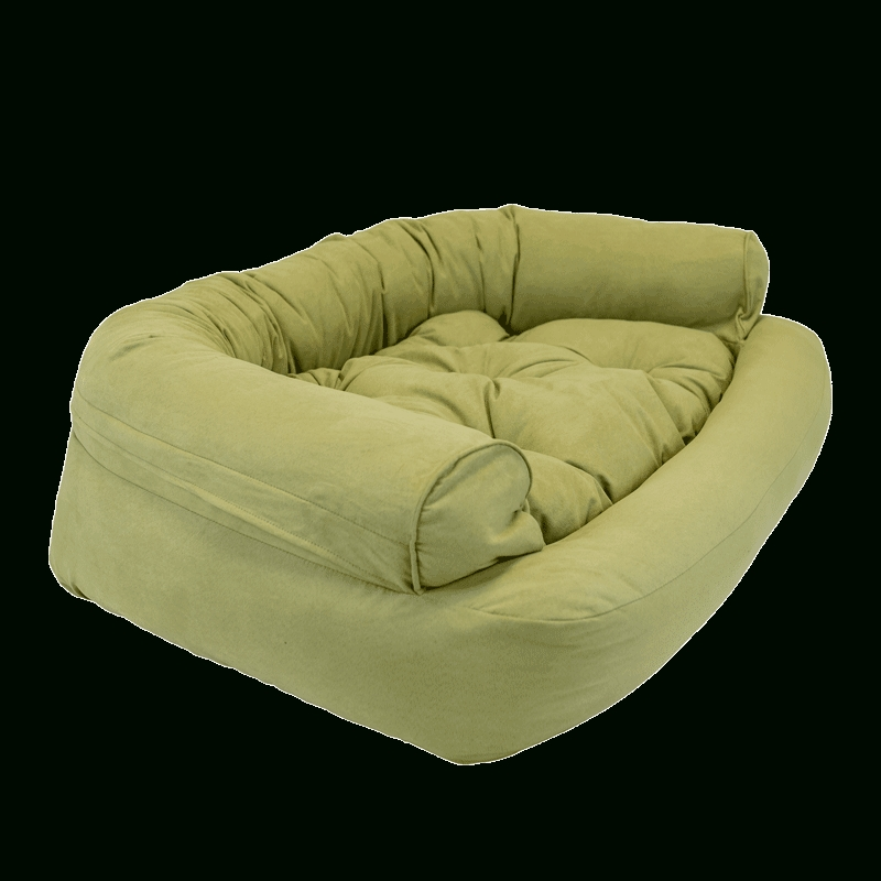 Snoozer Overstuffed Luxury Dog Sofa | Microsuede Fabric With Snoozer Luxury Dog Sofas (Image 18 of 20)