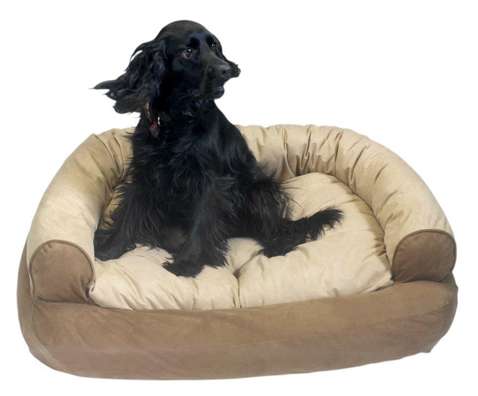 Snoozer Overstuffed Luxury Dog Sofa & Reviews | Wayfair With Snoozer Luxury Dog Sofas (Image 16 of 20)