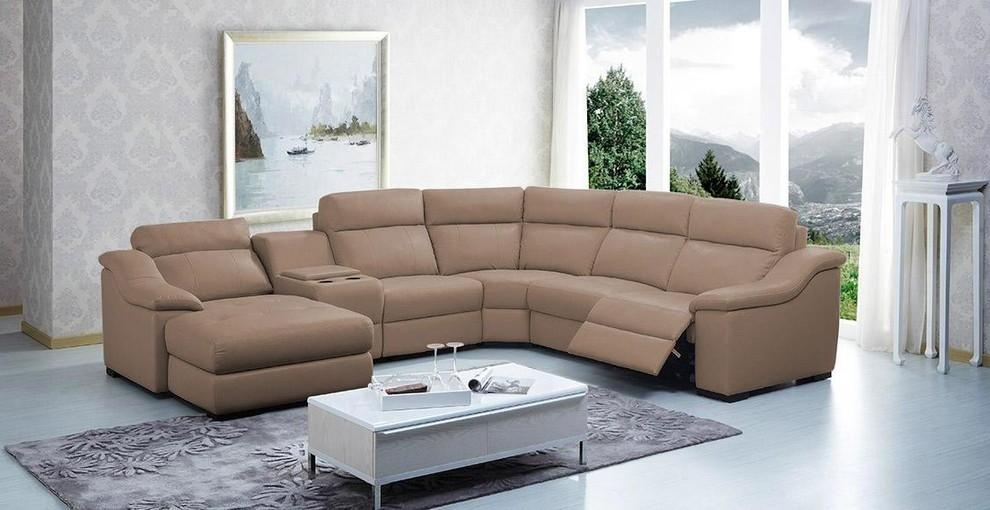 Sofa Beds Design: Breathtaking Ancient Curved Sectional Sofa With With Curved Sectional Sofas With Recliner (Image 16 of 20)
