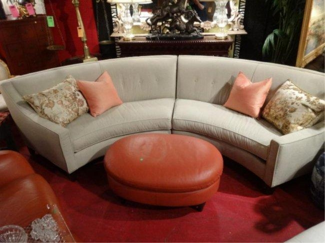 Sofa Beds Design: Extraordinary Modern Semi Circular Sectional Regarding Semi Circular Sectional Sofas (Image 16 of 20)