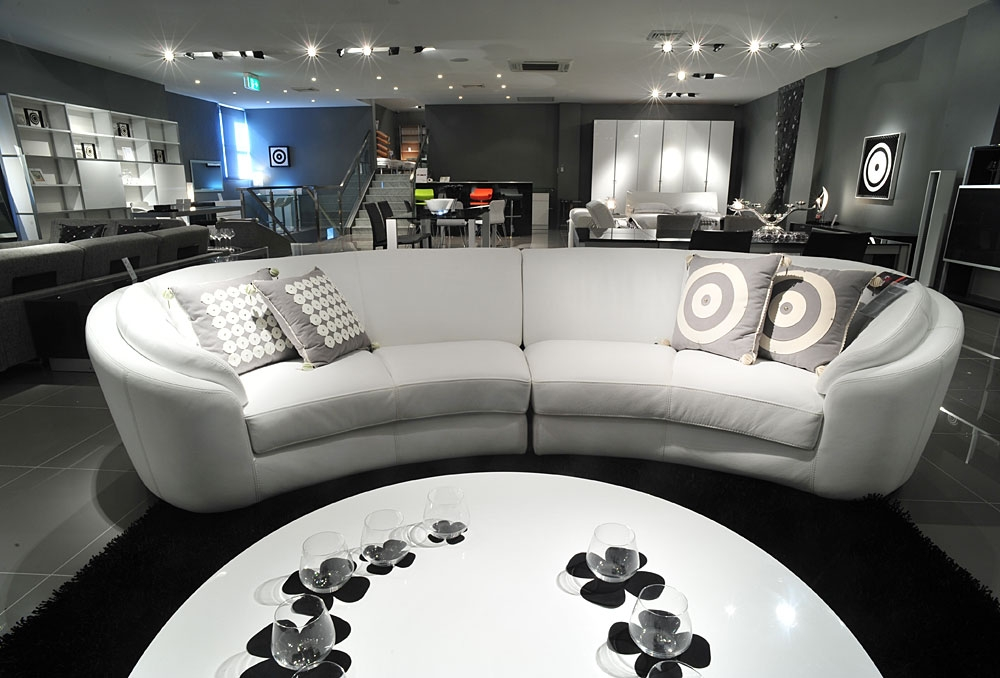 Sofa Beds Design: Fascinating Modern Cheap Sectional Sofas Under With Semi Circular Sectional Sofas (Image 17 of 20)