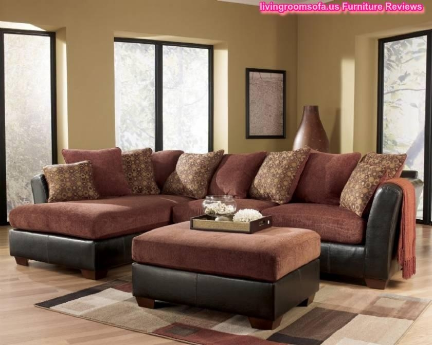 Sofa Beds Design: Mesmerizing Unique Sectional Sofas At Ashley Regarding Ashley Furniture Leather Sectional Sofas (Image 17 of 20)