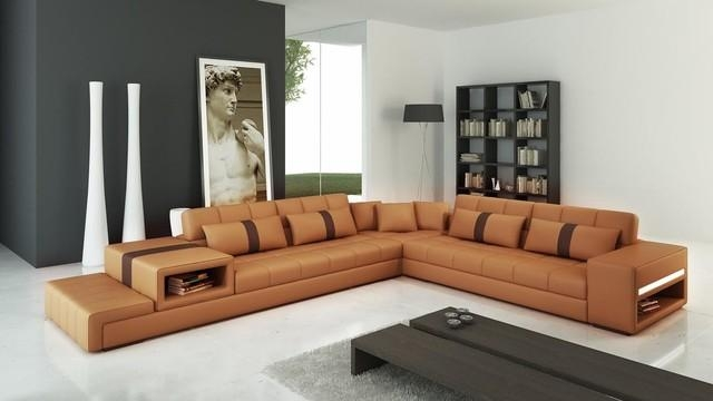Sofa Beds Design: Popular Modern Camel Colored Sectional Sofa With Camel Color Sofas (Photo 4 of 20)