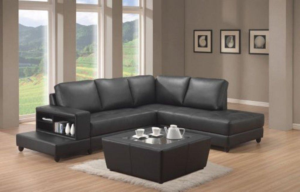 Sofa Beds Design: Surprising Modern Black Sectional Sofa For Cheap Regarding Small L Shaped Sectional Sofas (View 16 of 20)