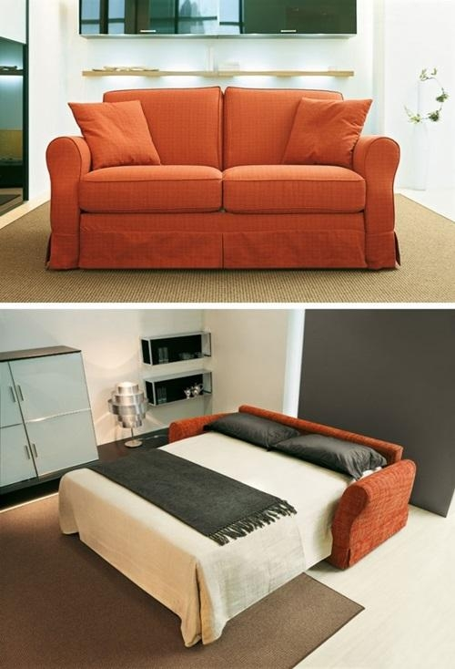 Sofa Beds & Futons For Small Rooms – Interior Design Inside Small Bedroom Sofas (Image 19 of 20)