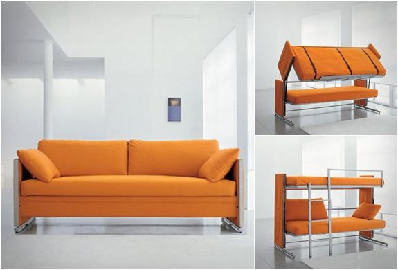 Sofa Bunk Bed Within Sofas Converts To Bunk Bed (Image 13 of 20)