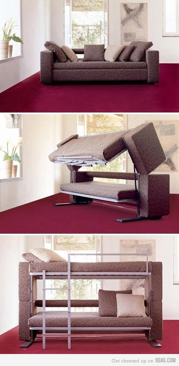 Sofa Converts To A Bunk Bed ~ Now That's Nifty Regarding Sofas Converts To Bunk Bed (Image 14 of 20)