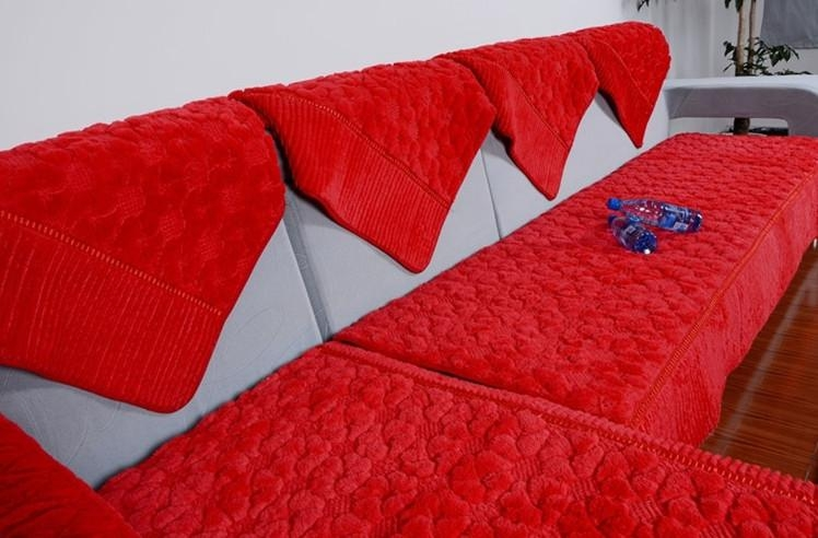 Sofa Cushion Covers And How To Get Them Custom Made | Best Design In Individual Couch Seat Cushion Covers (Image 10 of 20)