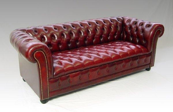 Sofa Ideas: Red Leather Sofa Within Red Chesterfield Chairs (Image 19 of 20)