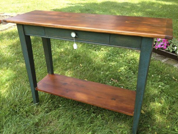 Sofa Table Design: Barnwood Sofa Table Astounding Design Walnut Throughout Barnwood Sofa Tables (Image 19 of 20)