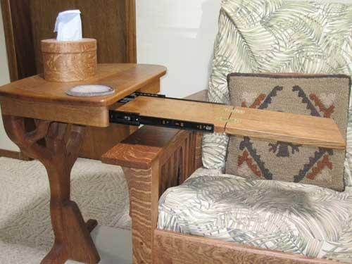 Sofa Table Design: Best Collection Slide Under Sofa Tray Table Within Under Sofa Tray Tables (Image 16 of 20)