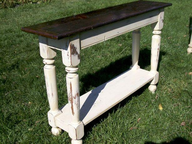 Sofa Table Design: Cherry Wood Sofa Table Fascinating Rustic Pertaining To Cherry Wood Sofa Tables (View 16 of 20)