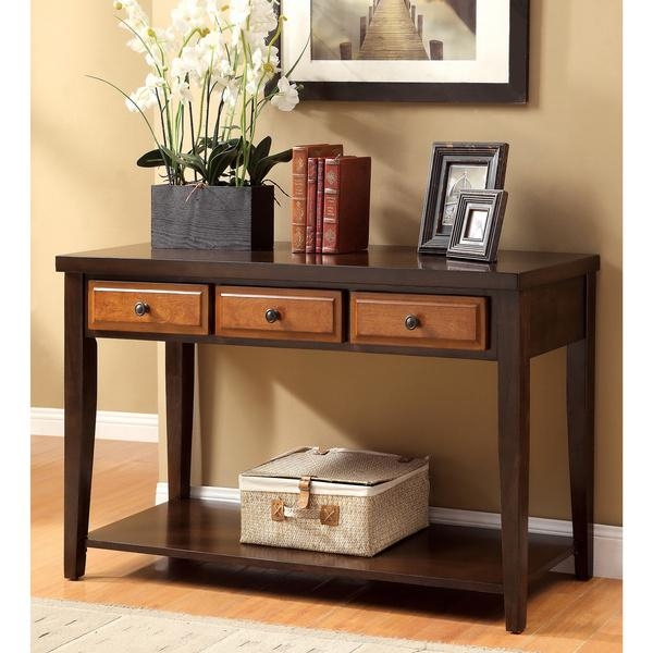 Sofa Table Design: Cherry Wood Sofa Table Fascinating Vintage Pertaining To Cherry Wood Sofa Tables (Image 11 of 20)