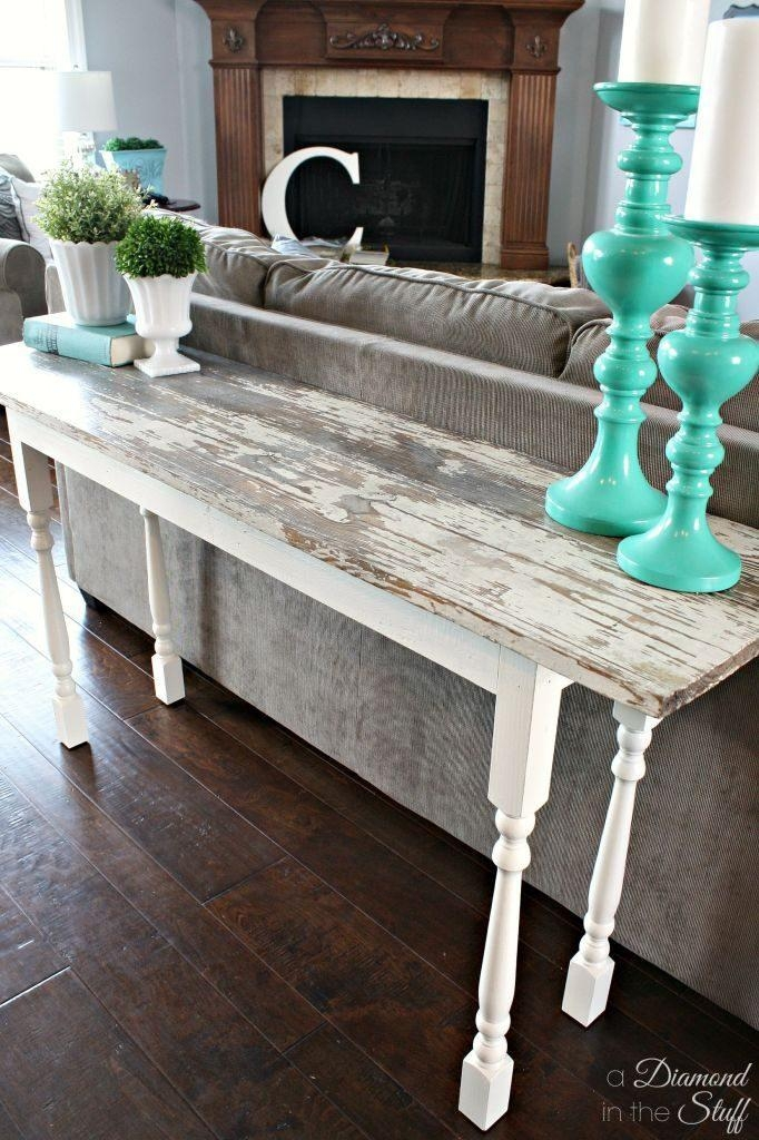 Sofa Table Design: Turquoise Sofa Table Best Classic Shabby Chic With Shabby Chic Sofa Tables (View 9 of 20)