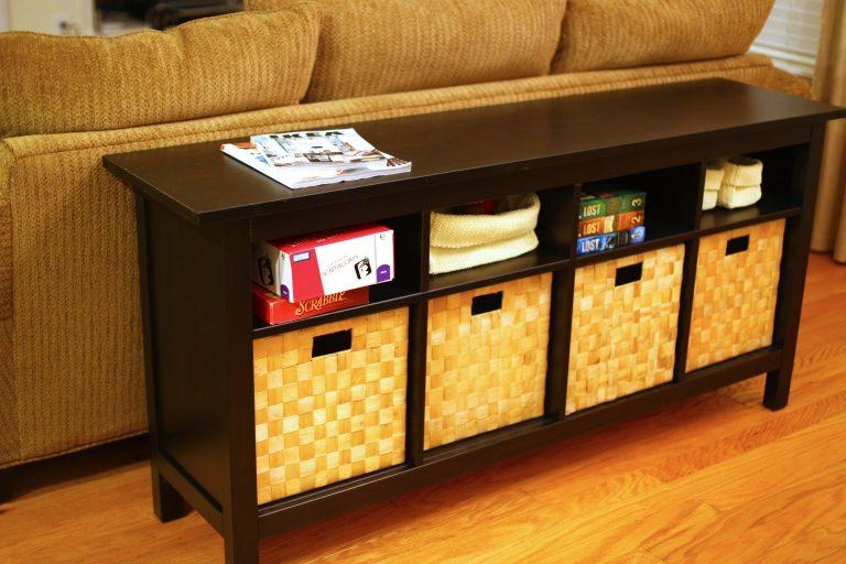 Sofa Tables With Storage Wonderful On Home Decorating Ideas About In Lowes Sofa Tables (Image 14 of 20)