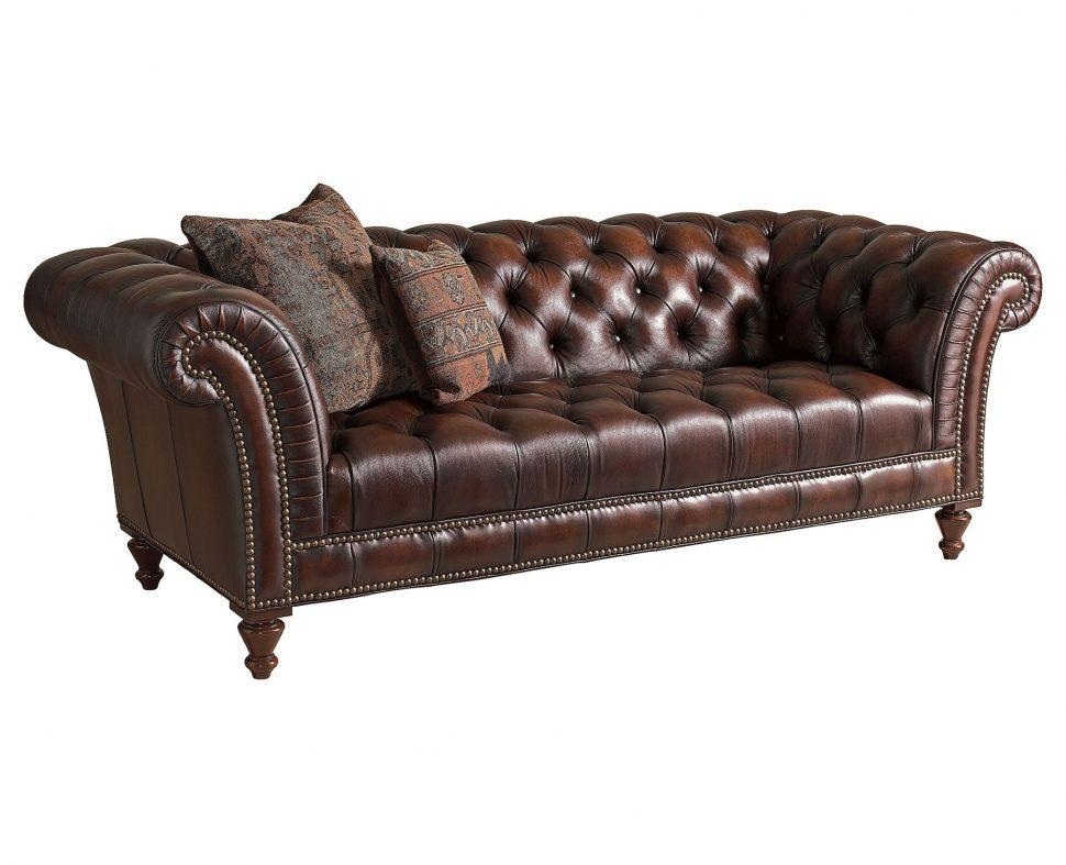 Sofas Center : Archaicawful Leather Tufted Sofa Photos Design With Brown Tufted Sofas (View 18 of 20)